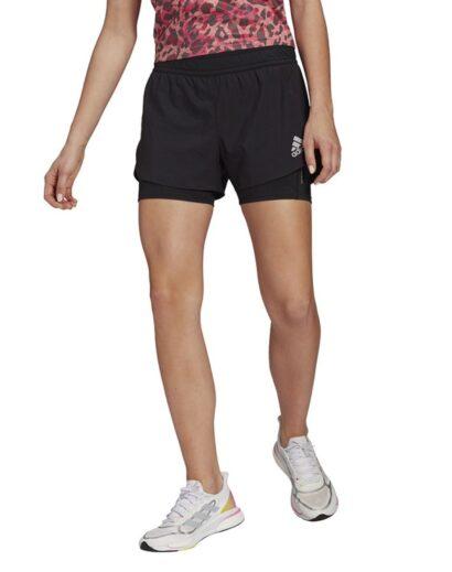 Bėgimo šortai adidas Fast 2in1 Primeblue Short (1)