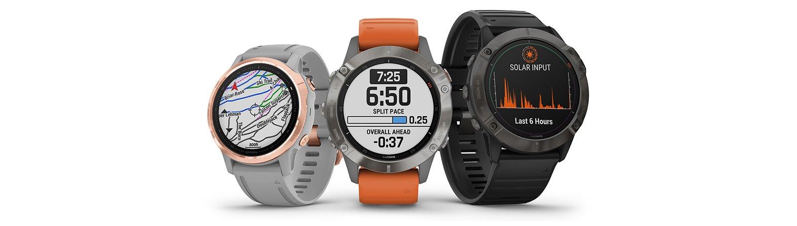Bėgimo laikrodis Garmin Fenix 6 (11)