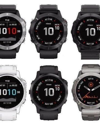 Bėgimo laikrodis Garmin Fenix 6 (12)