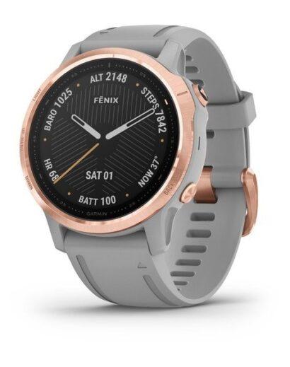 Bėgimo laikrodis Garmin Fenix 6s Sapphire rose gold
