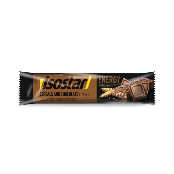 Batonėlis Energy Cereals Chocolate 35g